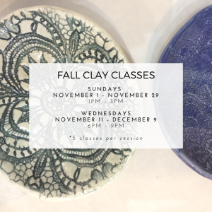 Inspirations Fall Classes - Social Media - November